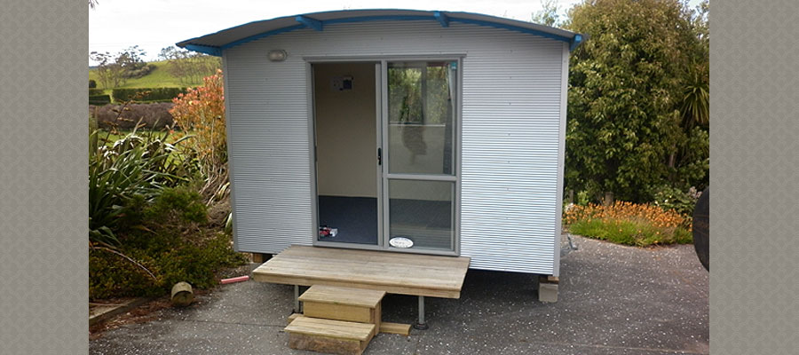 Sleepout rental cabin